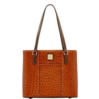 Dooney & Bourke Ostrich Small Lexington (Introduced by Dooney & Bourke at $228 in Jun 2017) - bronze grey