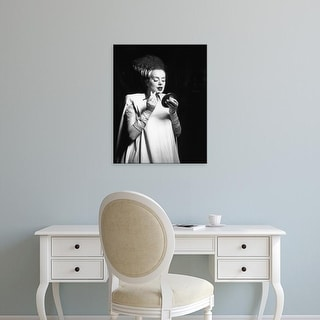 Easy Art Prints Unknown's 'Even Monsters Need a Date' Premium Canvas Art