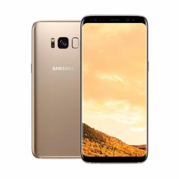 Samsung Galaxy S8 G950 Maple Gold 64GB Dual Sim Unlocked International Version