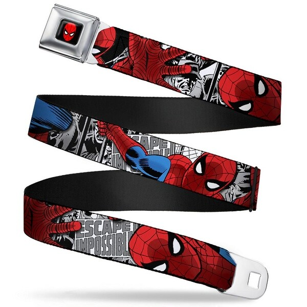 Marvel Comics Spider Man Full Color Spider Man Action Escape Impossible Seatbelt Belt