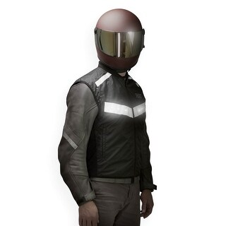 VUZ Moto Running Vest LED Safety Vest Motorcycle