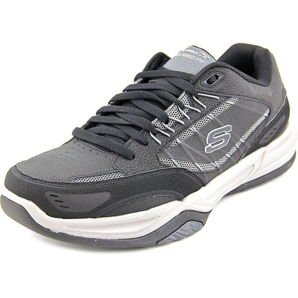 Shop Skechers Monaco TR - Swift Step Men Round Toe Leather Sneakers