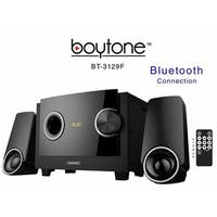 Boytone BT3129F 2.1 Multimedia Speaker System With Bluetooth - Black