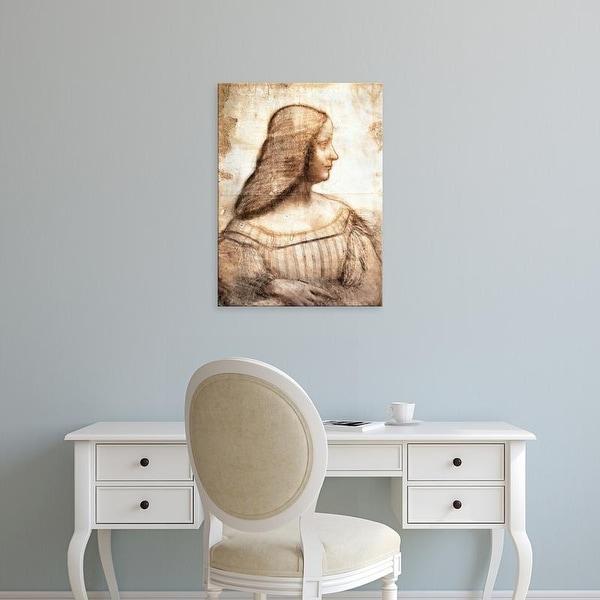 Easy Art Prints Leonardo da Vinci's 'Isabella d'Este' Premium Canvas Art