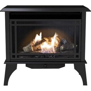 Pleasant Hearth VFS2-PH30DT 30000 BTU 32 in Intermediate Vent Free Gas Stove - Black