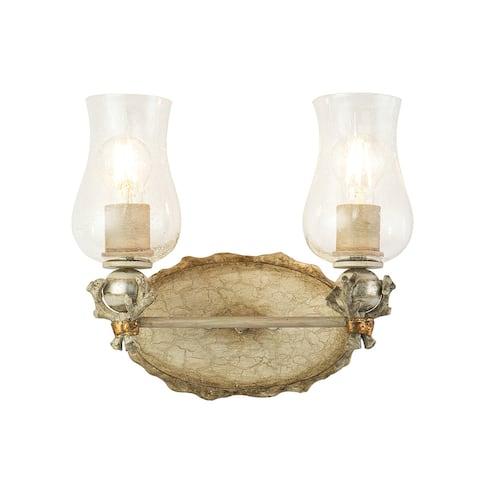 Trellis 2-Light Vanity in Bone