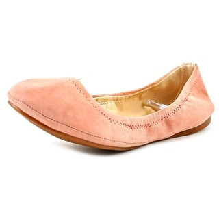 Vince Camuto Elanora Women  Round Toe Suede Pink Flats