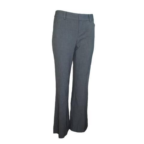 INC International Concepts Women's Curvy-fit Bootcut Pants Grey (2)