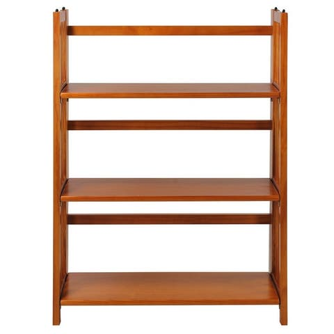 Porch & Den Edgemont Folding Stackable 27.5-inch Bookcase