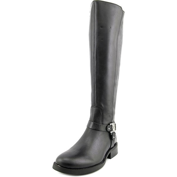Vince Camuto Farren 2 Wide Calf Round Toe Leather Knee High Boot