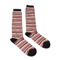 Missoni GM00CMD5218 0002 Multicolored Striped Boot Socks - M
