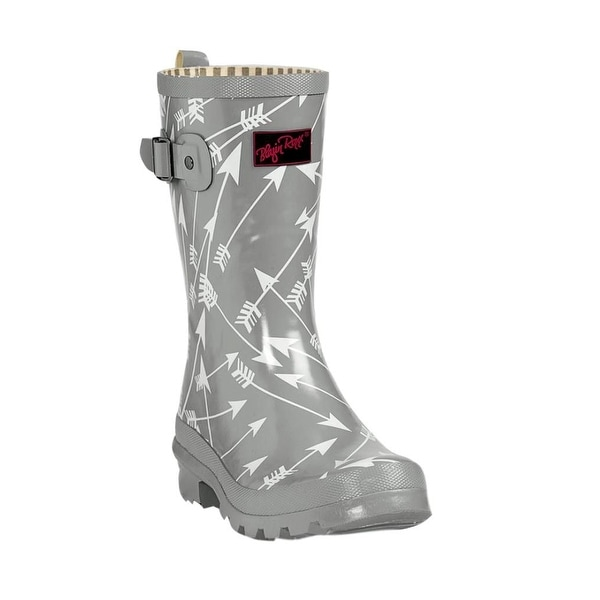"Blazin Roxx Western Boots Womens Emerson Rubber Rain 9"" Shaft"