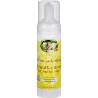 Earth Mama Angel Baby - Organic Unscented Baby Shampoo And Body Wash ( 3 - 5.3 FZ)