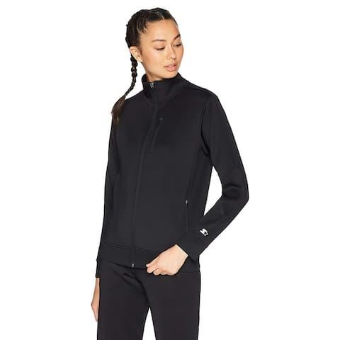 Starter Women's Track Jacket, Amazon Exclusive, Black,, Black, Size Medium