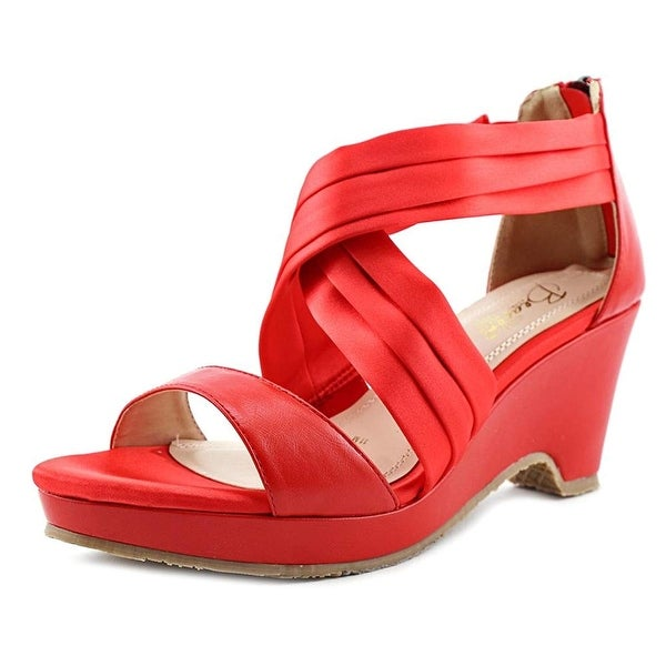 Beacon Womens alana criss Open Toe Casual Ankle Strap Sandals, Poppy, Size 11.0 - 11