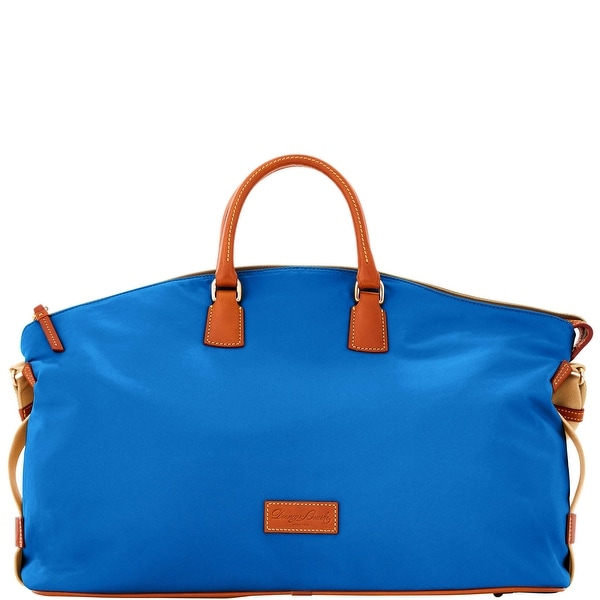 Dooney & Bourke Nylon Weekender (Introduced by Dooney & Bourke at $298 in Sep 2016) - French Blue