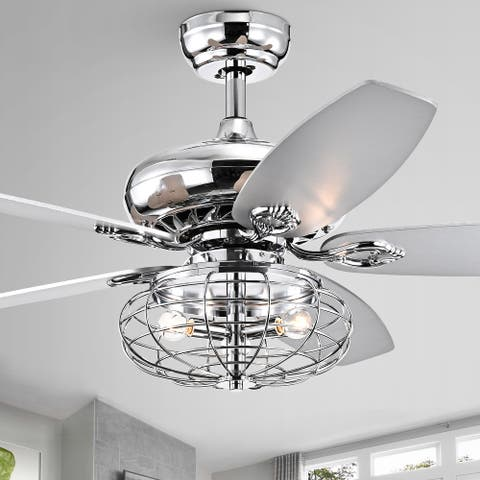 Silver Orchid Sebastian 52-inch Ceiling Fan