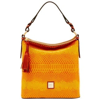 Dooney & Bourke Snake Small Sloan (Introduced by Dooney & Bourke at $288 in Nov 2016) - Yellow