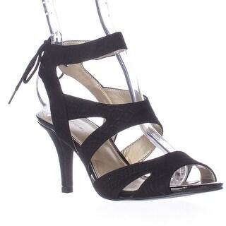 Bandolino Misilana Strappy Dress Sandals - Black