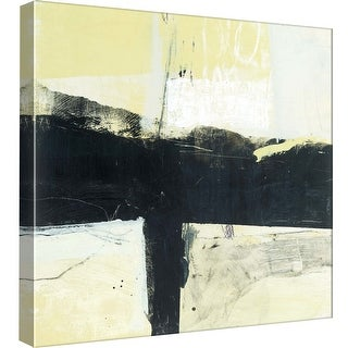 """PTM Images 9-98823  PTM Canvas Collection 12"""" x 12"""" - """"Coal Train A"""" Giclee Abstract Art Print on Canvas"""