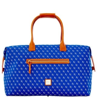 Dooney & Bourke MLB Royals Medium Duffle (Introduced by Dooney & Bourke at $480 in May 2014) - Blue