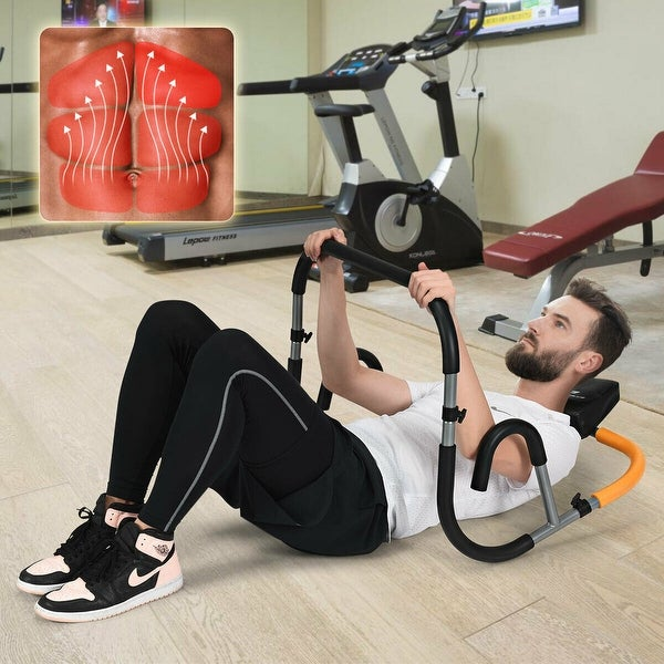 Ab Fitness Crunch Abdominal Exercise Fitness Glider Roller Equipment Home//Gym