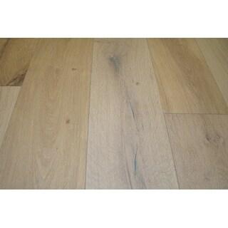"Kanstar Engineered Hardwood - 31 sq. ft. Baltic Oak Collection Sedona Silver / Oak / 7 1/2"" / 9/16"" / Random Lengths"