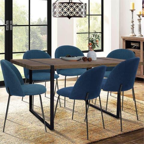 Furniture R Carbon Loft Modern 5 Piece Dining Set