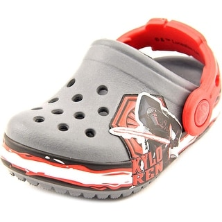 Crocs Cb Star Wars Villain Toddler Round Toe Synthetic Clogs