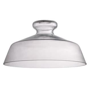 "Jeremiah Lighting N554 6.3"" x 12"" Dome Glass Pendant Shade for Medium (E26) Base"