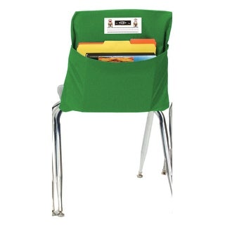 Seat Sack 15 In. Durable Small Storage Pocket, Green