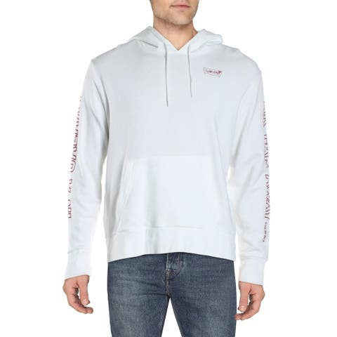 Levi's Mens Stormtrooper Hoodie Cotton Graphic - White