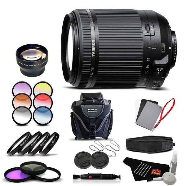Tamron 18-200 f/3.5-6.3 Di II VC for Nikon International Version (No Warranty) Advanced Kit - black