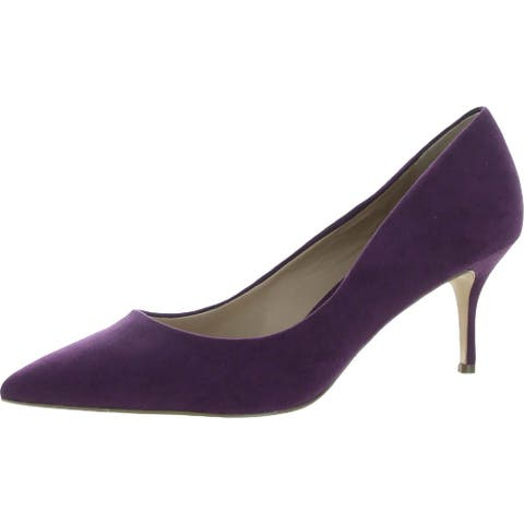 Charles David Amelia Women's Faux Suede Pointed Toe Pumps