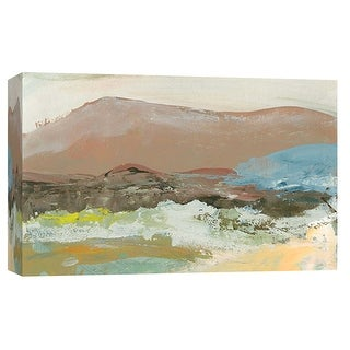 """PTM Images 9-101922  PTM Canvas Collection 8"""" x 10"""" - """"Landscape Study 20"""" Giclee Mountains Art Print on Canvas"""
