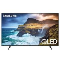"Samsung QN55Q70R 55"" QLED 4K UHD Smart TV with Bixby Intelligent Voice Assistant - Black"