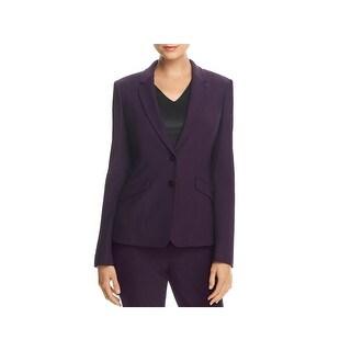 Hugo Boss Womens Jonalua Two-Button Blazer Wool Suit Separate