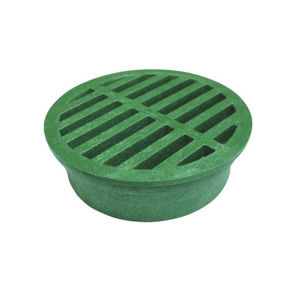 "NDS 4"" Green Round Grate"