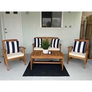 Safavieh Outdoor Living Fontana 4 Pc Outdoor Set