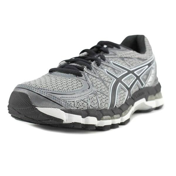 Asics Gel-Kayano 20 Men Round Toe Synthetic Gray Running Shoe