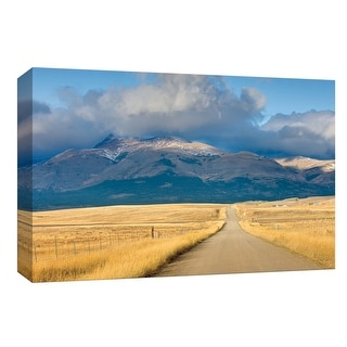 "PTM Images 9-153663  PTM Canvas Collection 8"" x 10"" - ""Crossroads in Color"" Giclee Rural Mountains Roads & Paths Art Print on"