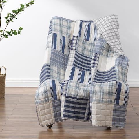 Greenland Home Fashions Napa Reversible Throw Blanket
