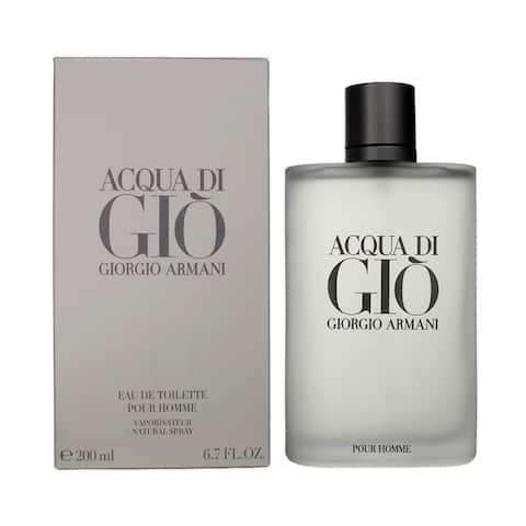 Giorgio Armani Acqua Di Gio EDT for Men 6.7 oz / 200 ml