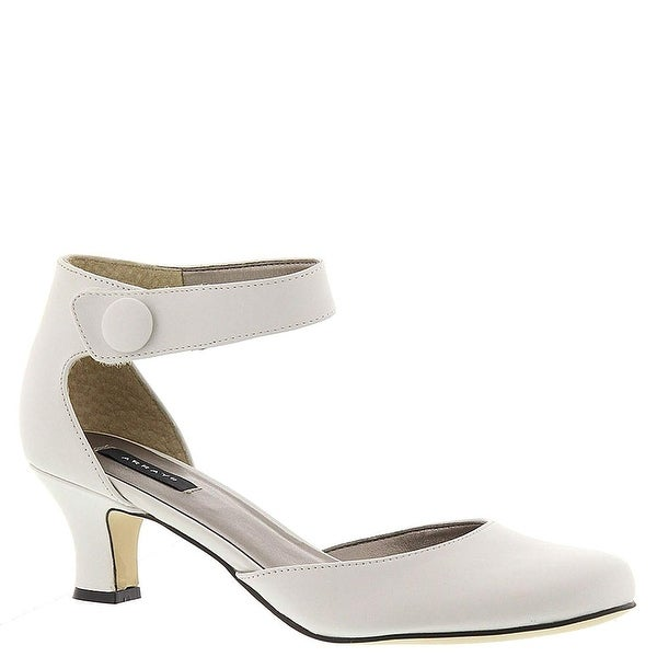 ARRAY Women's Charlie Pump, White, Size 7.5
