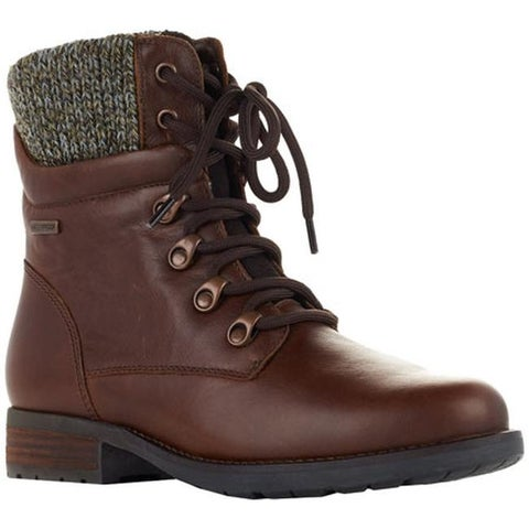 Cougar Women's Derry Ankle Boot Dark Brown Ranchero Leather