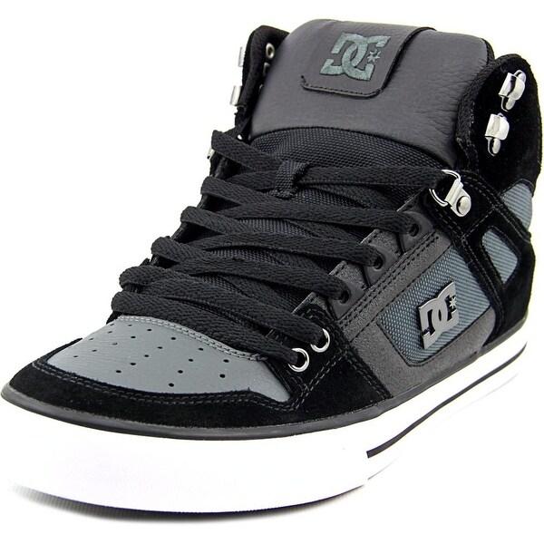 DC Shoes Spartan HI WC SE   Round Toe Leather  Skate Shoe