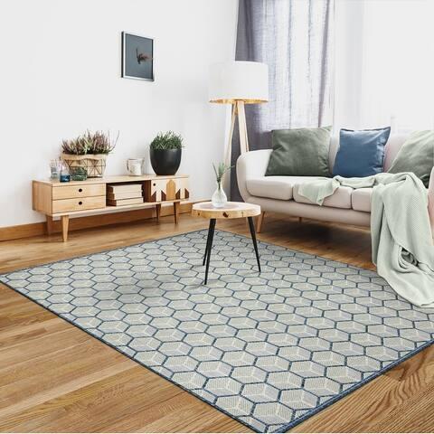 Indoor/Outdoor Opua Modern Area Rug