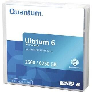 Quantum - Quantum Data Cartridge, Lto Ultrium 6 (Lto-6) Using Mp, Library Pack