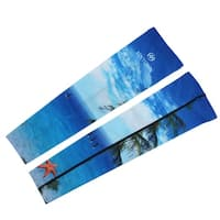 XINTOWN Authorized Tree Pattern Cooling Arm Sleeves Support Protector XXXL Pair