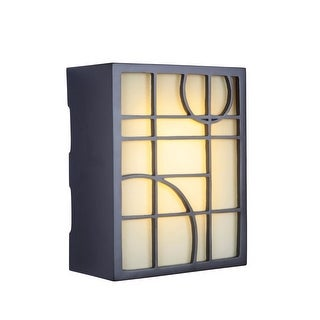 """Craftmade ICH1660 10.33"""" x 8.25"""" Rectangle LED Geometric Door Chime 2 Note Tone - Oiled Bronze - N/A"""